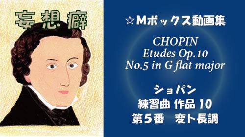 ショパン 練習曲 Op.10-5