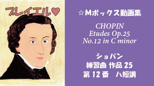 ショパン 練習曲 Op.25-12