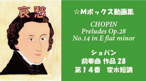 ショパン 前奏曲 op.28-14