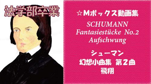 シューマン 幻想小曲集 Op.12 第2曲 飛翔