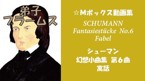 シューマン 幻想小曲集 Op.12 第6曲 寓話