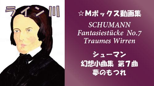 シューマン 幻想小曲集 Op.12 第7曲 夢のもつれ