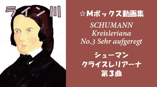 シューマン クライスレリアーナ 第3曲