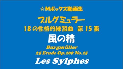 ブルグミューラー18-15風の精