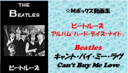 Beatles Can't Buy Me Love