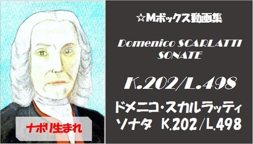 scarlatti K.202 L.498