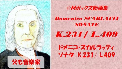 scarlatti K.231 L.409