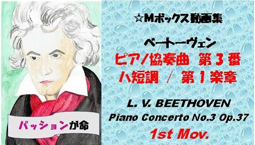 BEETHOVEN Piano Concerto No3 Op37 1st Mov