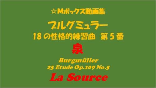 ブルグミューラー18-5泉