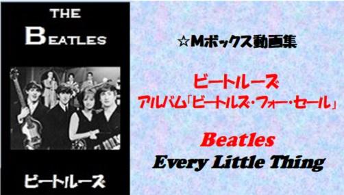 ビートルーズ・フォー・セール_#11_Every Little Thing