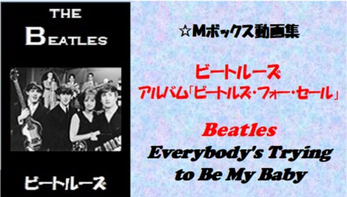 ビートルーズ・フォー・セール_#14_Everybody's Trying to Be My Baby